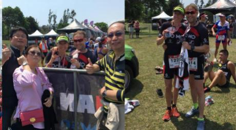 DOMO-Scott team @Ironman 70.3 Taiwan 2018